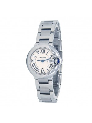 Cartier Ballon Bleu Stainless Steel Quartz Ladies Watch W69010Z4