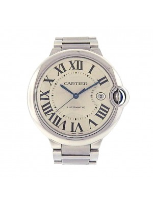 Cartier Ballon Bleu W69012Z4 Stainless Steel Automatic Silver Men's Watch