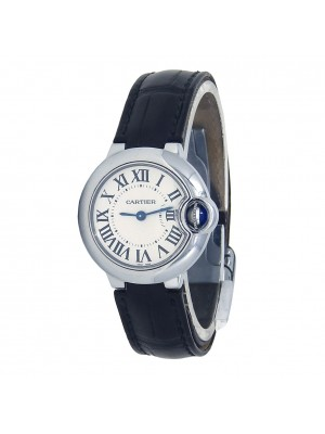 Cartier Ballon Bleu Stainless Steel Quartz Ladies Watch W69018Z4