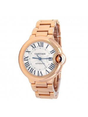 Cartier Ballon Bleu 18k Rose Gold Automatic Ladies Watch W6920096
