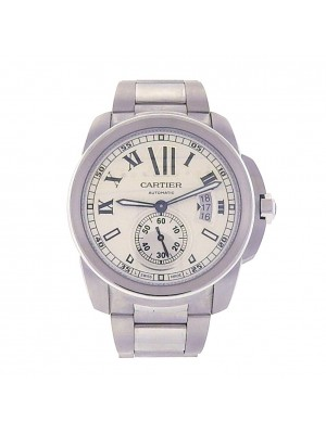 Cartier Calibre de Cartier Stainless Steel Automatic Men's Watch W7100015