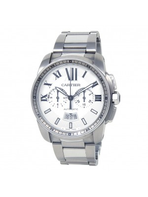 Cartier Calibre de Cartier Stainless Steel Men's Watch Automatic W7100045