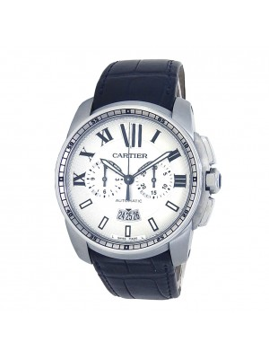 Cartier Calibre de Cartier Stainless Steel Automatic Men's Watch W7100046