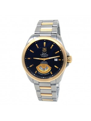 Tag Heuer Grand Carrera 18k Yellow Gold & Stainless Steel Watch WAV515A.BD0903