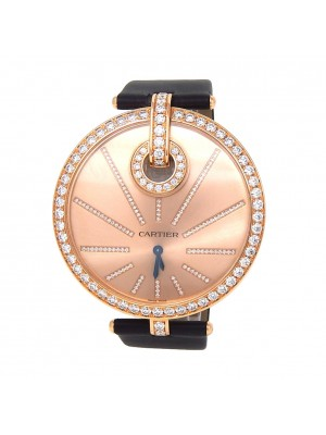 Cartier Captive de Cartier 18k Rose Gold Swiss Quartz Ladies Watch WG600003