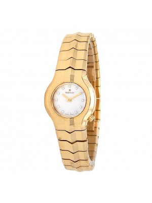 Tag Heuer Alter Ego 18k Yellow Gold Swiss Quartz Ladies Watch WP1443.BG0755