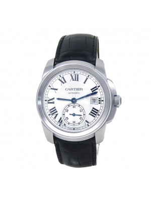 Cartier Calibre de Cartier Stainless Steel Automatic Men's Watch WSCA0003
