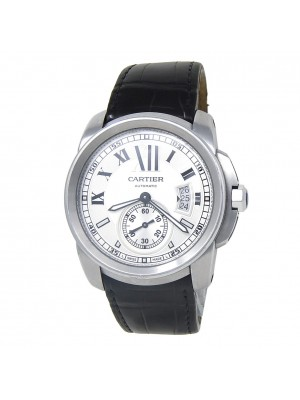 Cartier Calibre de Cartier Stainless Steel Men's Watch Automatic WSCA0003