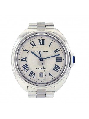 Men's Stainless Steel Cartier Cle de Cartier Automatic Self Winding Watch