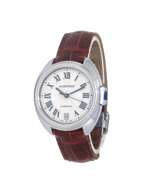 Cartier Cle de Cartier Stainless Steel Women's Watch Automatic WSCL0017
