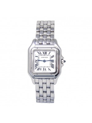 Cartier Panthere Stainless Steel Swiss Quartz Ladies Watch WSPN0007