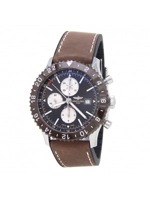 Breitling Chronoliner Stainless Steel Automatic Men's Watch Y24310