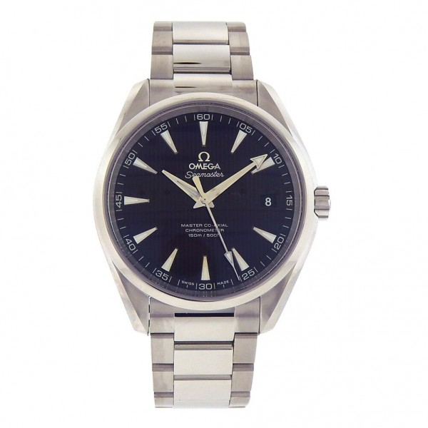 Men's Omega Aqua Terra Seamaster 231.10.39.21.06.001 Steel Automatic Watch