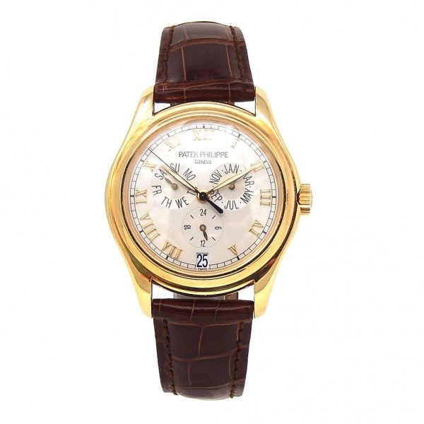 Patek Philippe Annual Calendar 18k Yellow Gold Automatic Men's Watch 5035J