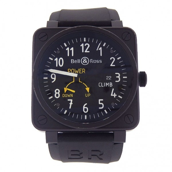 best sneakers 24cb8 0e44c Bell & Ross BR0197 CLIMB PVD Stainless Steel Automatic Mens Watch BR0197SCL