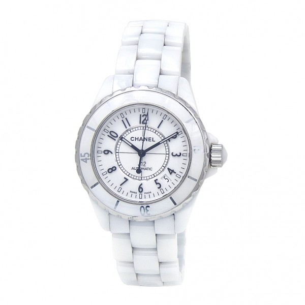 a5dca7c7c0a0b Chanel J12 White Ceramic Automatic Ladies Watch J12